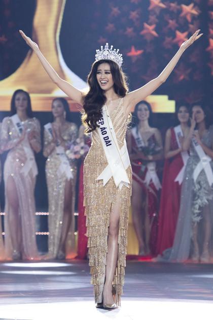 Điều thú vị về bộ đầm Khánh Vân mặc trong chung kết Miss Universe 2020-5