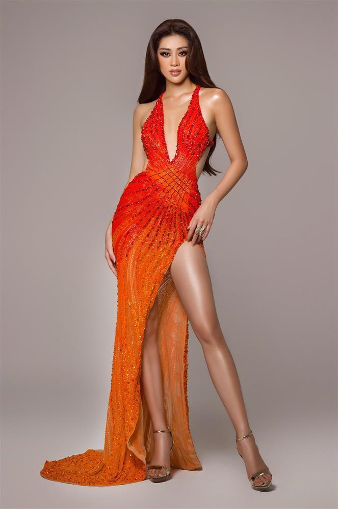Điều thú vị về bộ đầm Khánh Vân mặc trong chung kết Miss Universe 2020-7