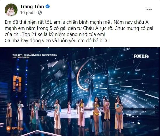 Khánh Vân trượt top 10: Trang Trần tự hào, Mâu Thủy muốn đập điện thoại-10