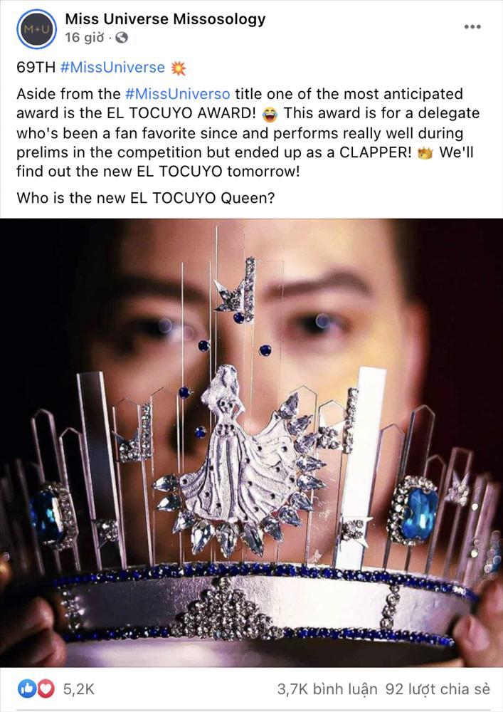 Rộ tin Khánh Vân out top Miss Universe 2020 vì bị trù ẻo đoạt giải Miss El Tocuyo-1