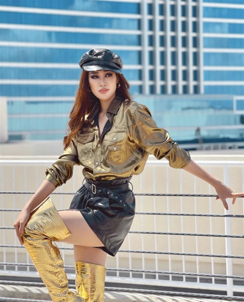 Khánh Vân chỉ trung thành một kiểu makeup vẫn auto đẹp ở Miss Universe-3
