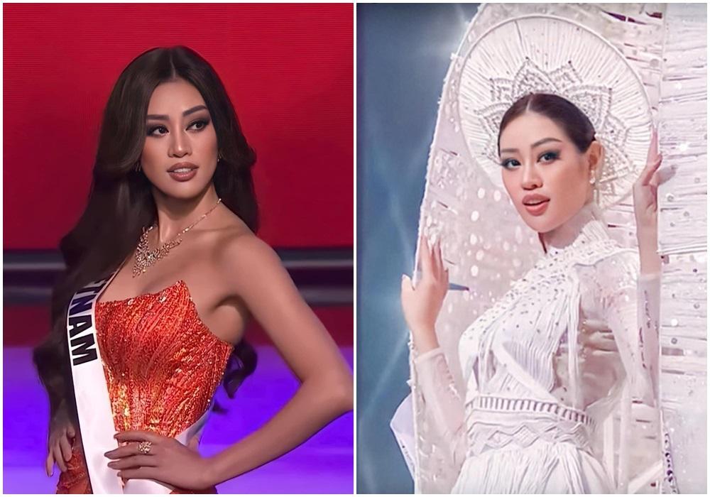 Khánh Vân chỉ trung thành một kiểu makeup vẫn auto đẹp ở Miss Universe-2