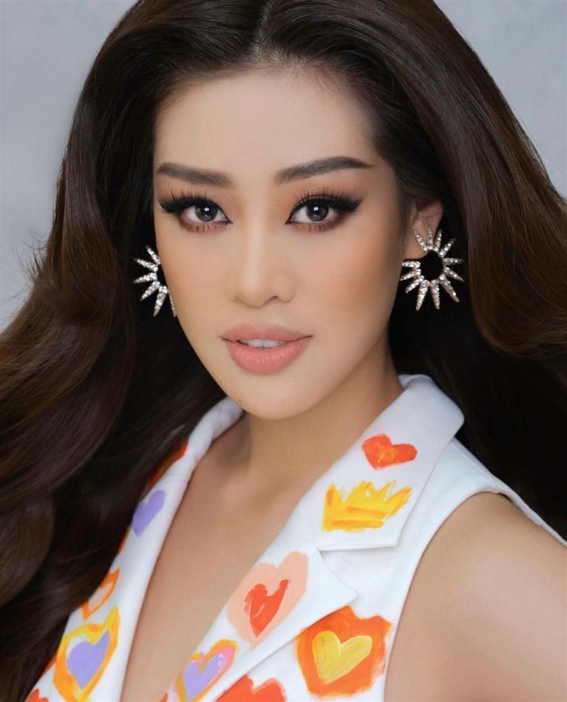 Khánh Vân chỉ trung thành một kiểu makeup vẫn auto đẹp ở Miss Universe-5