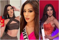 Khánh Vân chỉ trung thành một kiểu makeup vẫn 'auto đẹp' ở Miss Universe