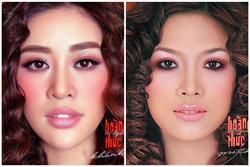 Hoa hậu Khánh Vân đụng layout 'chị đẹp' Mỹ Tâm: Quyết tâm ra MV hay gì?