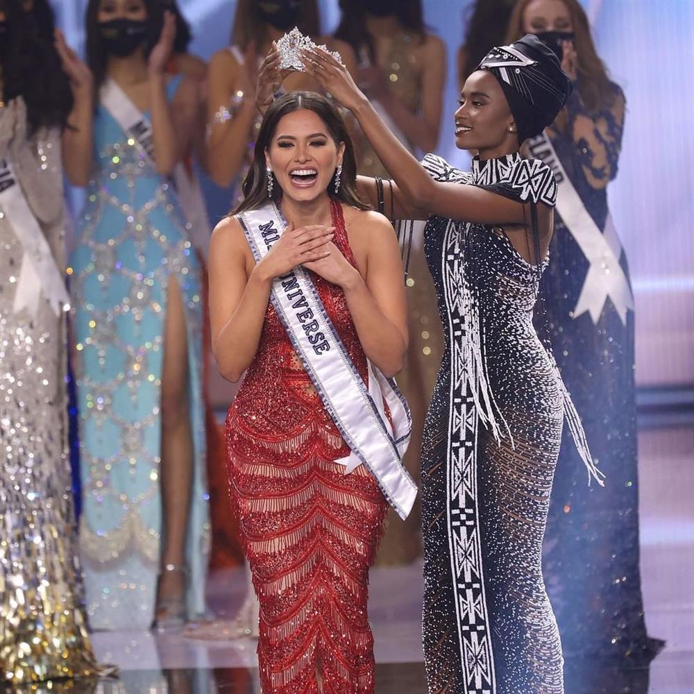 Tân Miss Universe Andrea Meza có đúng 7 tháng giữ vương miện-1