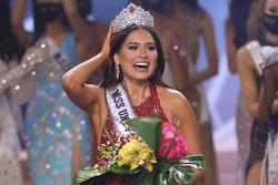Tân Miss Universe Andrea Meza có đúng 7 tháng giữ vương miện