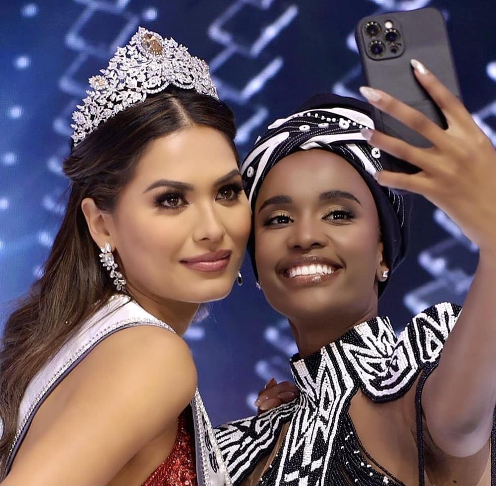 Chung kết Miss Universe 2020 bị chê làm lố giây phút đăng quang-4