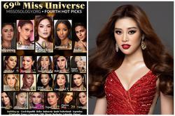 Khánh Vân và top 21 Miss Universer bị dìm hàng phần catwalk vì nhạc 'cũ mèm'?