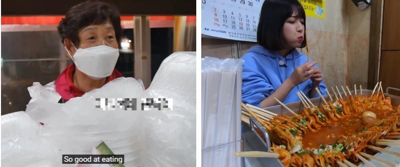 YouTuber mukbang bị chủ quán gàn vì sợ ăn no đến vỡ bụng, ai chứng kiến cũng nể phục-10