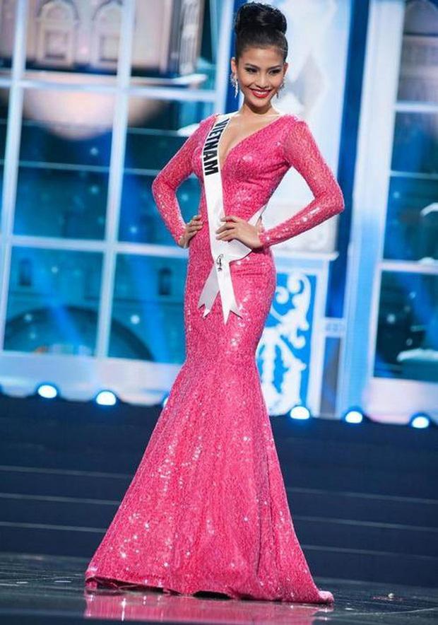 7 chiếc váy đẹp nhất Miss Universe của mỹ nhân Việt: Ai là người nổi nhất?-6