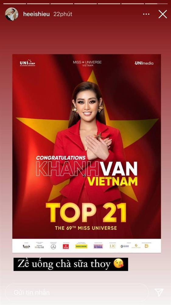 Khánh Vân lọt top 21 Miss Universe 2020, em trai nhắn 5 chữ đi vào lòng người-2