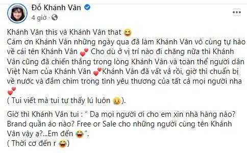 Khánh Vân Mắt Biếc gây lú với lời chúc Khánh Vân Hoa hậu-2