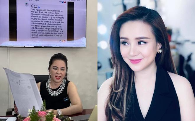 Vừa được trả Facebook, Vy Oanh lập tức viết status xọc bà Phương Hằng-1