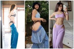 Ngoài con gái Diva Mỹ Linh, loạt sao Việt bị chỉ trích vì mốt tụt quần phản cảm