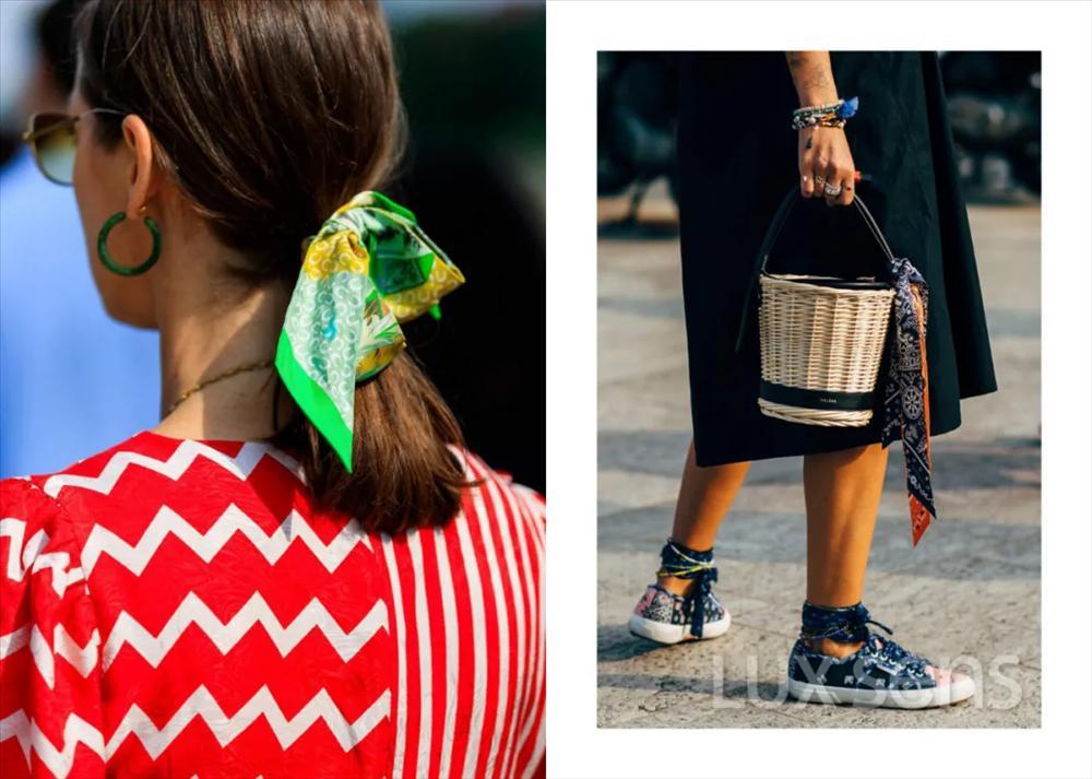 Học sao quốc tế hô biến 5 kiểu áo trendy từ một chiếc khăn bandana-1