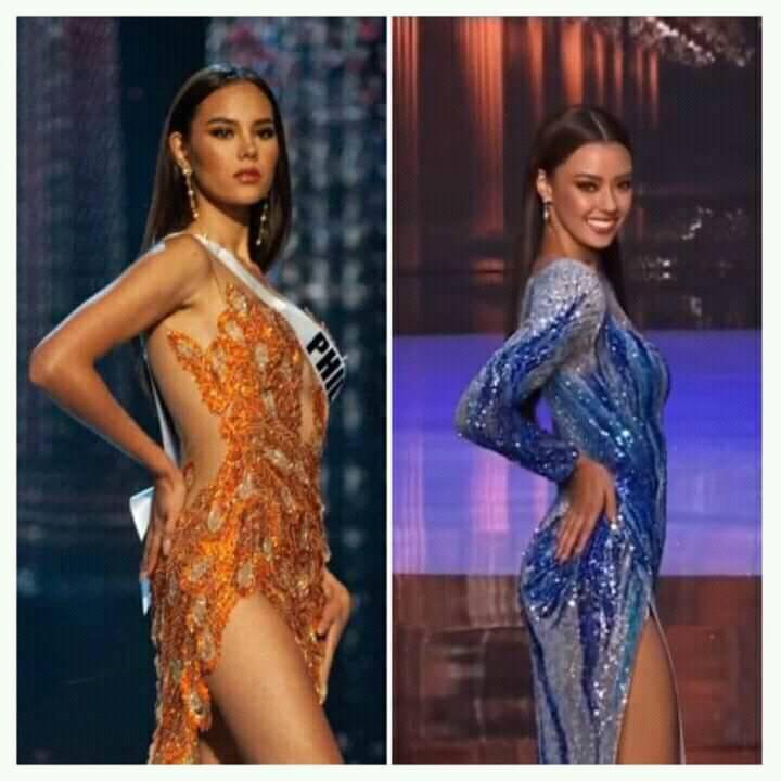 Hoa hậu Thái Lan bị khịa bắt chước lava catwalk của Catriona - Miss Universe 2018-1