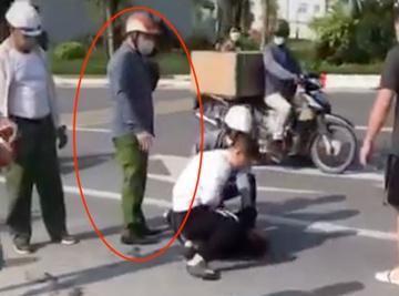 Điều chuyển Công an đứng bấm điện thoại, thưởng nóng tài xế vụ cướp taxi-1