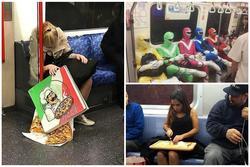 Những hình ảnh chứng minh tàu điện ngầm là nơi điều gì cũng có thể xảy ra