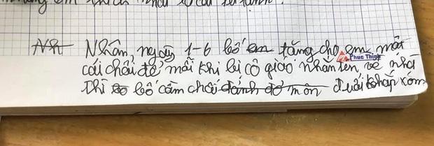 Học trò lớp 1 trổ tài viết văn miêu tả siêu lầy, người lớn đọc chỉ biết ôm bụng cười-2