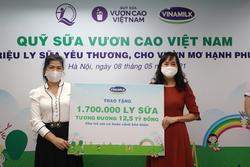Vinamilk dành 2 triệu sản phẩm tiếp sức cộng đồng và tuyến đầu chống dịch