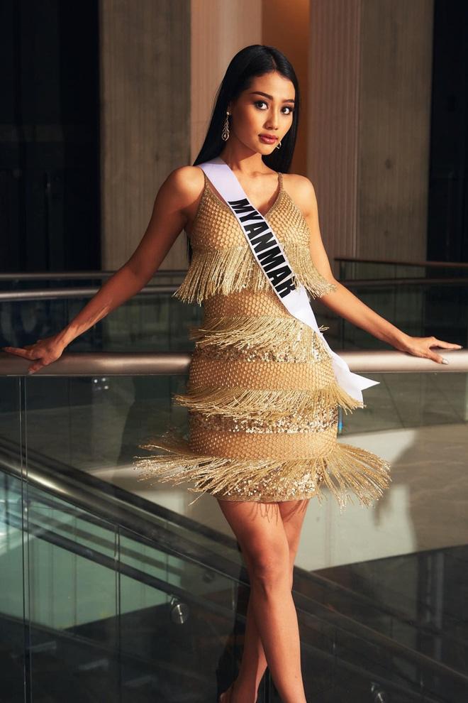 Hoa hậu Myanmar bị truy nã sau khi cầu cứu tại chung kết Miss Universe 2020?-3