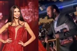 Đôi tình nhân gây xúc động tại chung kết Miss Universe 2020