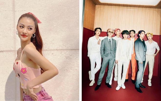 Á hậu Kiều Loan hóa ra là fan girl u mê mỹ nam nhà BTS-2