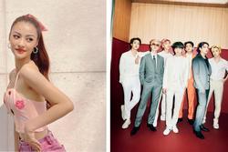 Á hậu Kiều Loan hóa ra là fan girl u mê mỹ nam nhà BTS
