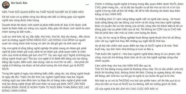 Nghệ sĩ Việt đè ngửa chữ NUÔI ra phân tích, nhất định không ai chịu thua!-1
