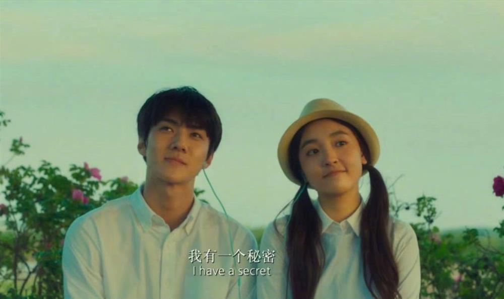 Sehun (EXO) và Ngô Thiến lộ cảnh phim hôn nhau đắm đuối cá chuối-3