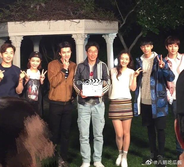 Sehun (EXO) và Ngô Thiến lộ cảnh phim hôn nhau đắm đuối cá chuối-6