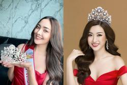 Hoa hậu Du lịch Thái Lan bị nghi đạo nhái vương miện của Hoa hậu Đỗ Mỹ Linh