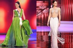 Xôn xao ứng viên vương miện bị cắt nát váy tại Miss Universe 2020