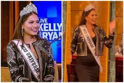 Tân Miss Universe bị chê đội vương miện 5 triệu USD kém sang, lộ 'rổ bé mỡ'