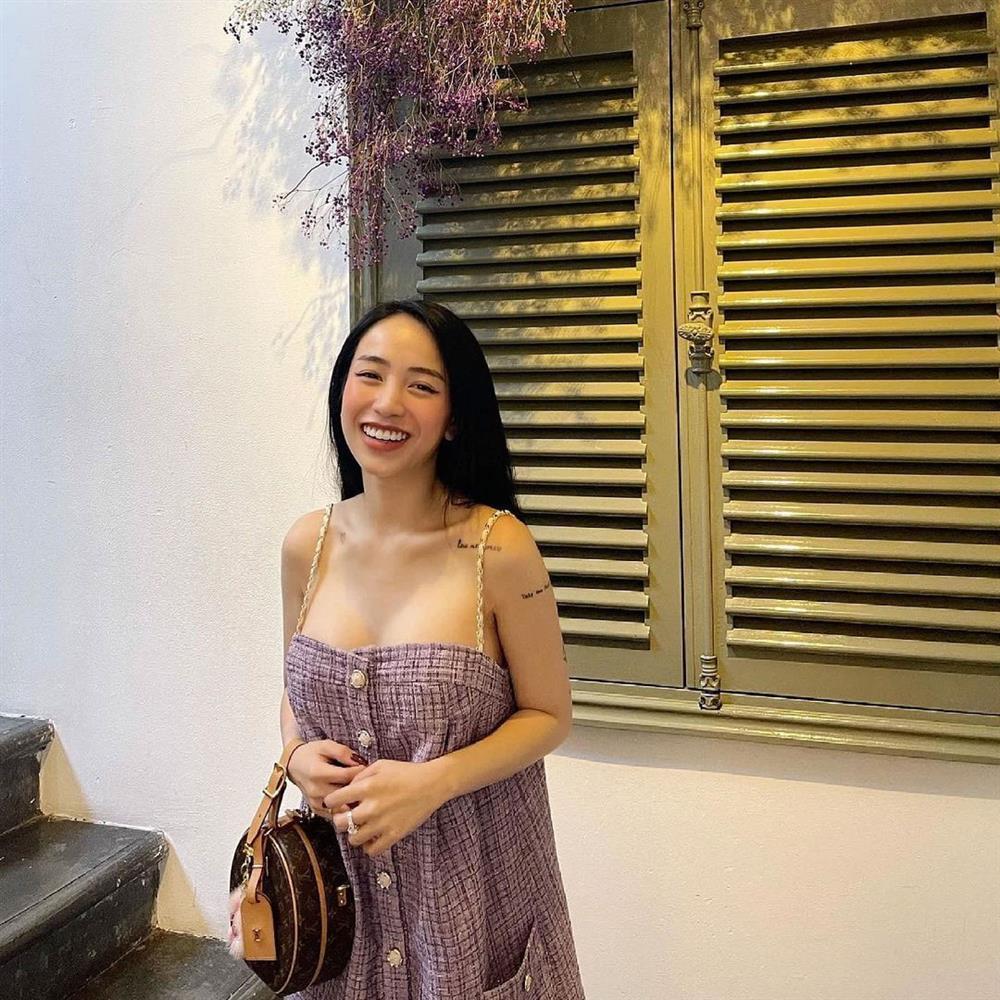 Trốn quý tử đi chơi, con gái Minh Nhựa tiện tay show vòng 1 khủng-3