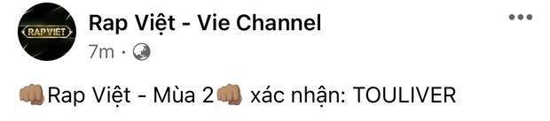Touliver sẽ kiêm luôn cả vai trò HLV thay Suboi tại Rap Việt mùa 2?-1