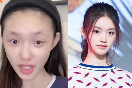 Dàn mỹ nhân Hoa ngữ xuống sắc thảm hại khi thiếu lông mày