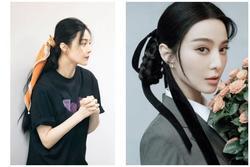 Mốt buộc tóc đuôi phượng giống Phạm Băng Băng được Kỳ Duyên, Minh Hằng đu trend từ lâu