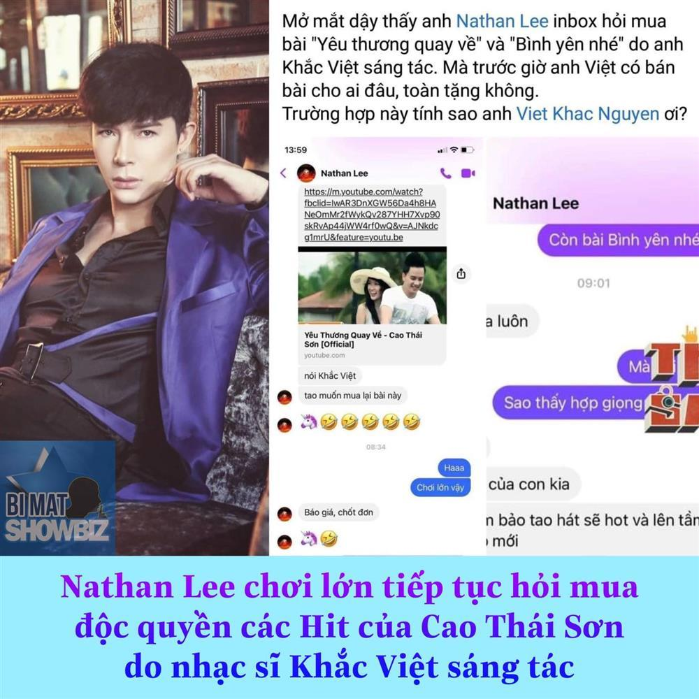 Nathan Lee xúc nốt 2 hits đại của Cao Thái Sơn, nhổ cỏ nhổ tận gốc?-2