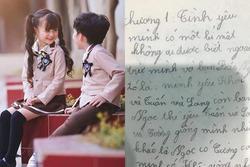 Nhóc tiểu học viết nhật ký tình yêu, đọc muốn sang chấn tâm lý