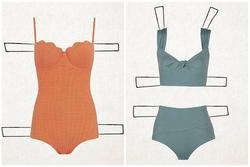 Mẹo chọn áo tắm phù hợp với hình dáng cơ thể giúp nàng 'đốt cháy' bãi biển hè này