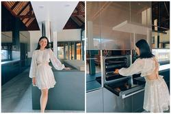 Vợ đại gia Thái Lan khoe căn bếp 3,7 tỷ chồng tặng: Không giỏi nấu ăn nên quan trọng không gian lúc nấu!