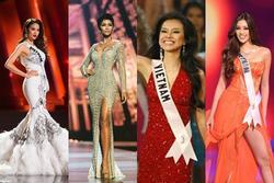 4 Hoa hậu Hoàn vũ Việt Nam thi Miss Universe: Phạm Hương đội sổ