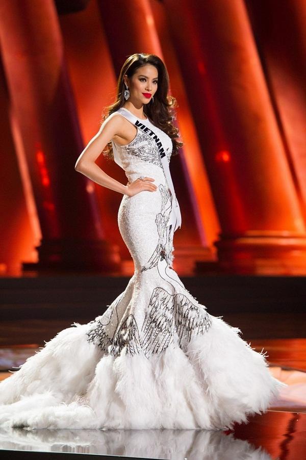 4 Hoa hậu Hoàn vũ Việt Nam thi Miss Universe: Phạm Hương đội sổ-3