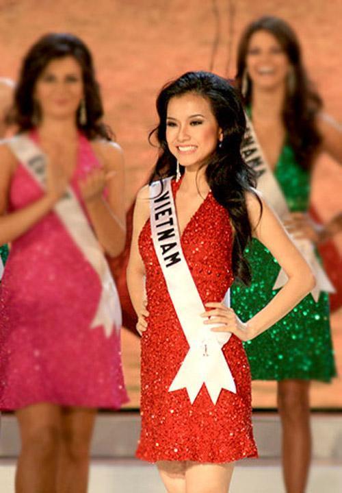 4 Hoa hậu Hoàn vũ Việt Nam thi Miss Universe: Phạm Hương đội sổ-5