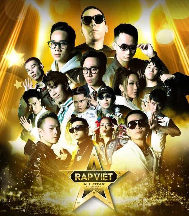 Rap Việt All-star Concert: Thành Cry lần đầu debut, dàn HLV và thí sinh cực cháy nhưng BTC đã quá tham lam-1