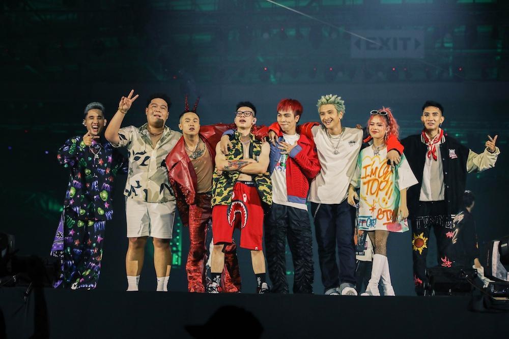Rap Việt All-star Concert: Thành Cry lần đầu debut, dàn HLV và thí sinh cực cháy nhưng BTC đã quá tham lam-2