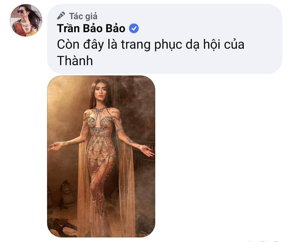 Xôn xao BB Trần thi hoa hậu, khoe luôn trang phục dân tộc và dạ hội-6