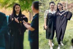 Quan Hiểu Đồng chụp ảnh tốt nghiệp 'làm màu', thực tế vẫn chưa học xong?